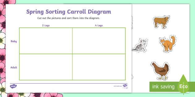 spring animals shape sorting worksheet activity sheet ni ks1. Black Bedroom Furniture Sets. Home Design Ideas