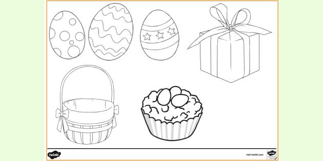 Free Printable Easter Coloring Pages Colouring Sheets