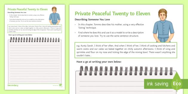 sample essay english writing year 9