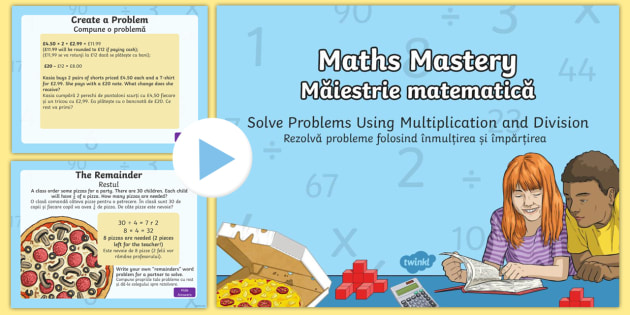 Solve Problems Using Multiplication and Division PowerPoint