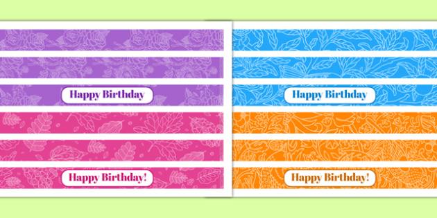 70th Birthday Party Cake Ribbon