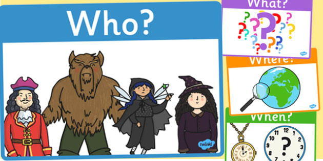 Who What Where When Why and How Prompt Posters - Reading, reading prompt, who, what ,where, when, guided reading, reading question, reading questions, parent, parents, reading comprehension, guided reading questions
