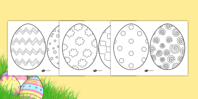 easter egg sheets easter egg easter egg resource foundation ks1 easter - Easter Egg Printables