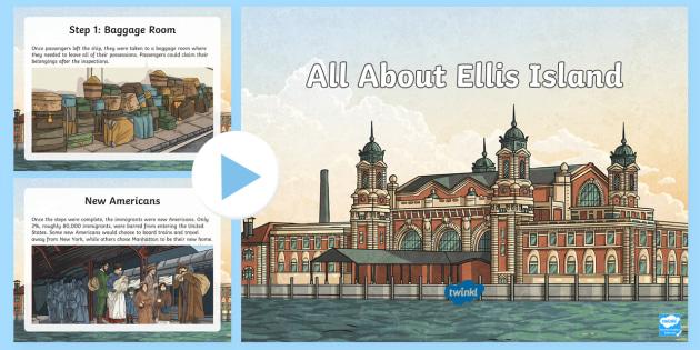 All About Ellis Island Powerpoint Teacher Made