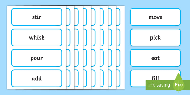 Imperative Verbs Cards - KS2 Verbs and Adverbs Primary Resources, Verbs, Adverbs, KS2 Words