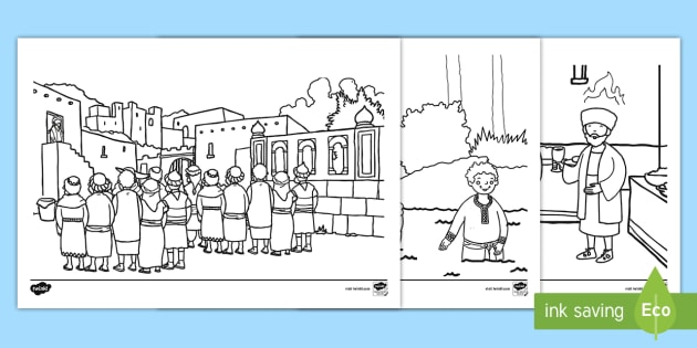 Pentecost Story Coloring Pages Holy Spirit Wind Fire border=