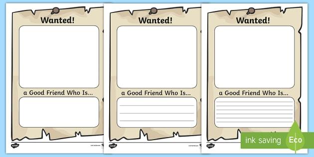 Friends worksheets ks2