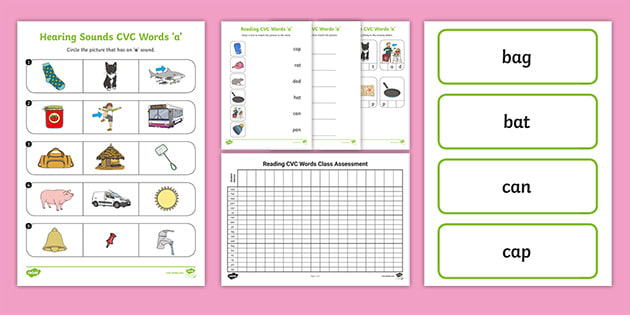 Cvc Word Assessment Resource Pack Teacher Made Here's how to use the diagnostic assessment used in words their way. cvc word assessment resource pack