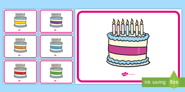 Prime Free Editable Birthday Cakes 7 Candles Personalised Birthday Cards Paralily Jamesorg