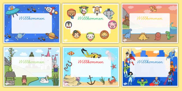 Veraumlnderbare-Willkommen-Schilder