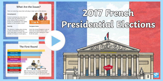 french presidential election powerpoint french presidential