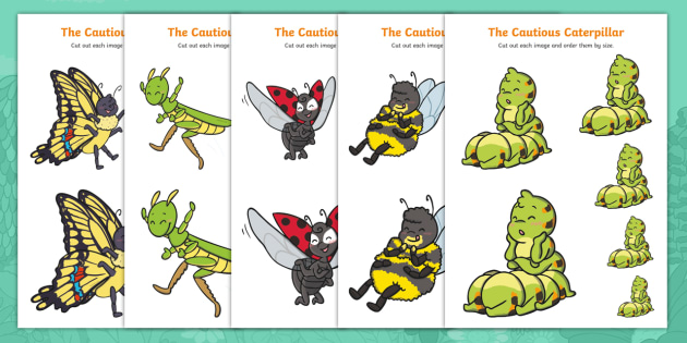 The Cautious Caterpillar: Minibeast Size Ordering