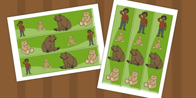 Ive Lost My Teddy Where Is it Display Borders - Where's My Teddy, teddy, woods, forest, lost, bear,display border, classroom border, border, reading, story,story book, story resources