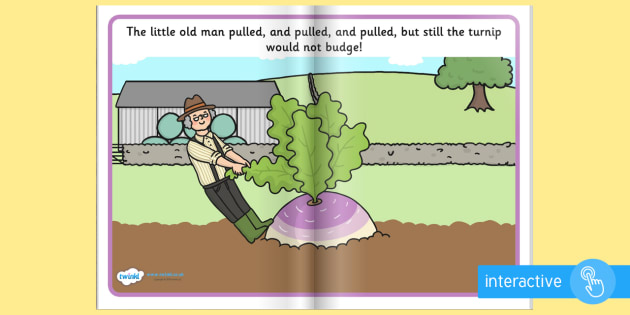 The Enormous Turnip eBook - books, interactive books, reading