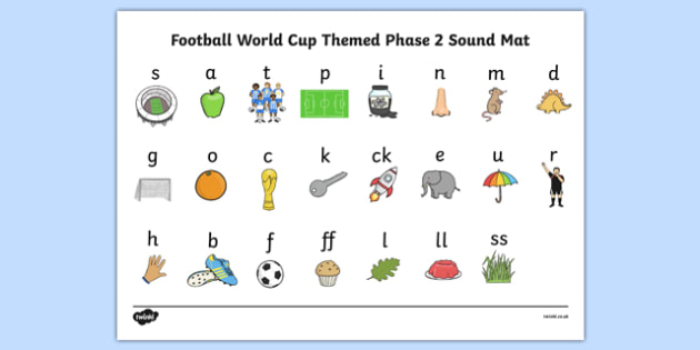 Football World Cup Themed Phase 2 Sound Mat - football, world cup