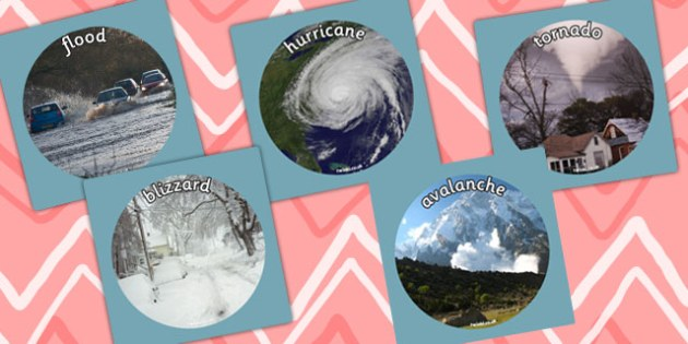 Extreme Weather Display Photo Cut Outs - photo, cut outs, weather