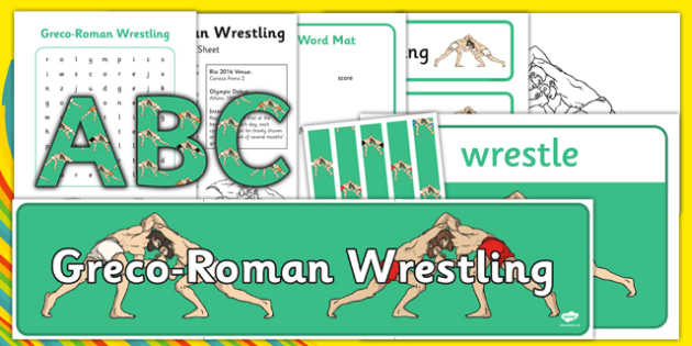 Rio 2016 Olympics Greco-Roman Wrestling Resource Pack - rio 2016, 2016 olympics, rio olympics, greco-roman wrestling, resource pack