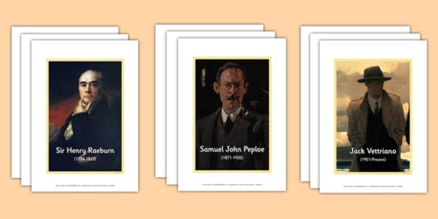 Scottish Artists Photo Display Packs - cfe, scottish, artists, display pack, display, pack, photos