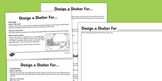 Homelessness Build a Shelter - homelessness, build, shelter, activity