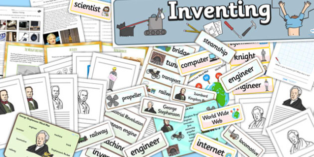 Inventions that Changed the World Resource Pack