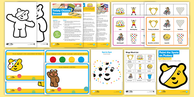 BBC Children in Need Early Years Pack for Parents