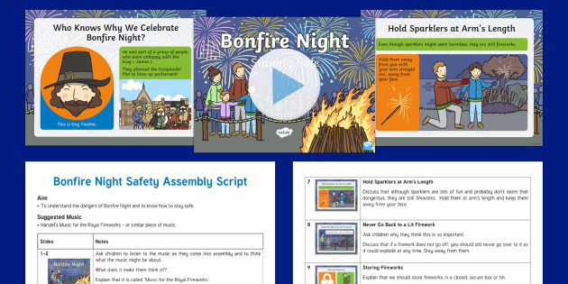 Bonfire Night Safety Assembly Pack