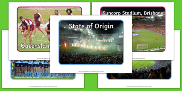 State of Origin Display Photos