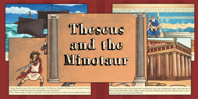 the story of theseus and the Theseus and the minotaur is a greek myth that needs no real introduction or explanation master french cartoonist, yvan pommaux, does a masterful job starting the story from the very beginning though.