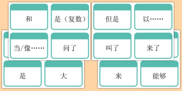 High Frequency Word Flashcards Chinese Mandarin - chinese mandarin, DfES Letters and Sounds, Letters and Sounds, Letters and sounds words, High frequency words, word flashcards
