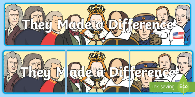 They Made a Difference Display Banner - they made a difference, IPC display banner, IPC, making a difference display banner, IPC display