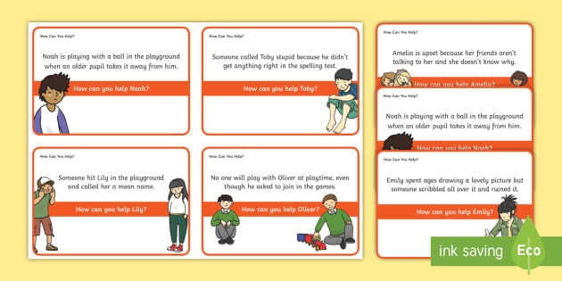 FREE! - How Can You Help? Scenario Discussion Cards