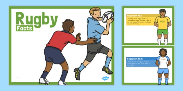 Rugby Facts PowerPoint - australia, rugby, facts, powerpoint