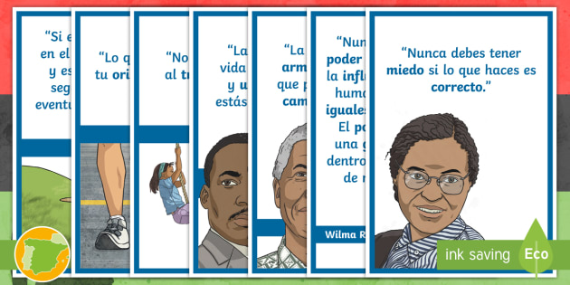 Pósters Frases Célebres Historia De La Cultura Negra Mural