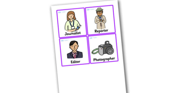 Newspaper Office Role Play Badges - newspaper, office, role play, badges, newspaper badges, role play badges, newspaper office role play, newspaper office