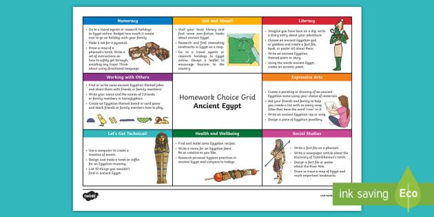 Ancient egypt facts homework help