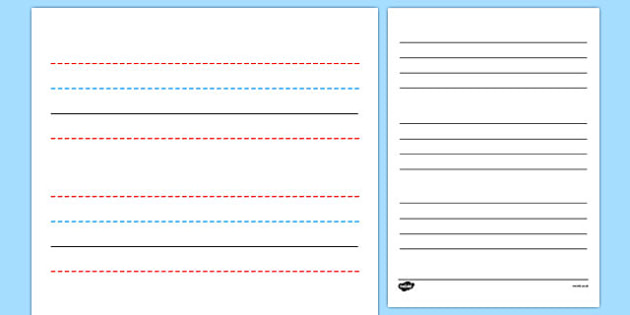 FREE! - Line Guides - Line guide, Handwriting, Writing aid ...