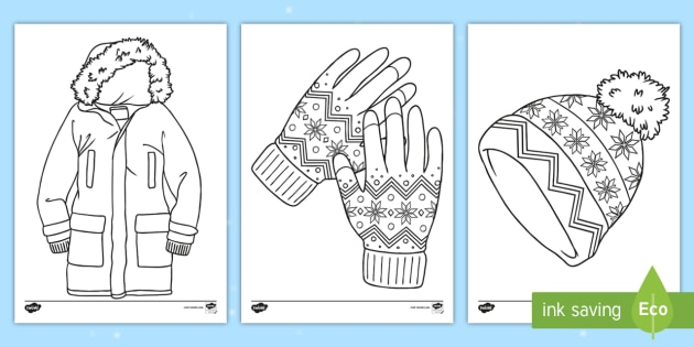 Clothes Coloring Pages Spring Clothes Coloring Pages Printable ... | 315x630