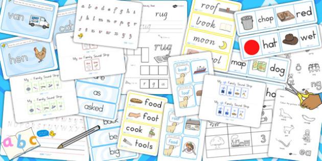 Australia Early Literacy and Phonics Resource Pack - literacy