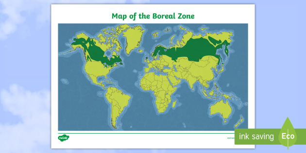 New boreal zone world map canada science junior grade new boreal zone world map canada science junior grade 4 gumiabroncs Images