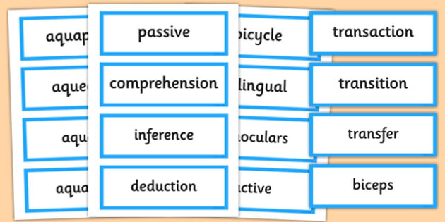 Year 6 Summer 2 Term Word Cards - year 6, summer, 2, term, word cards, cards