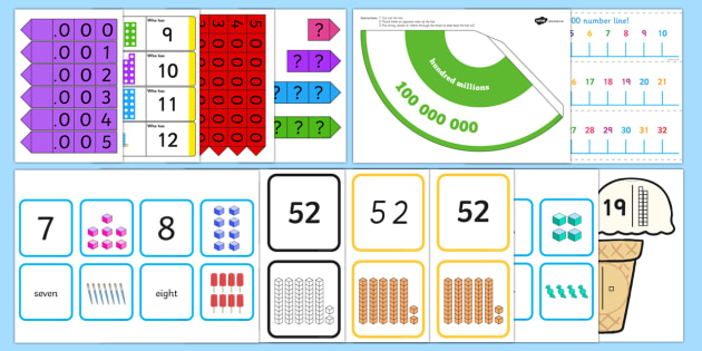 Foundation Phase Profile- Properties of Number Outcome 6 Resource Pack - Foundation Phase Profile, Properties of Number, outcome 6, number recognition, place value