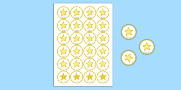 Star Counters - star, counters, star counters, eyfs, games, activities
