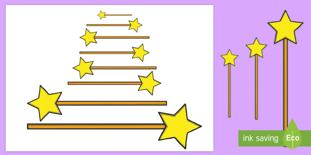 Magic Wand Measuring Activity - EYFS, Early Years, KS1, Key Stage 1, Magic, Magic Wands, Fairy Godmother, Witch, Wizard, Maths, Nume