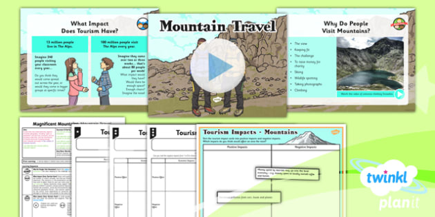 Geography: Magnificent Mountains: Mountain Travel Year 5 Lesson Pack 6