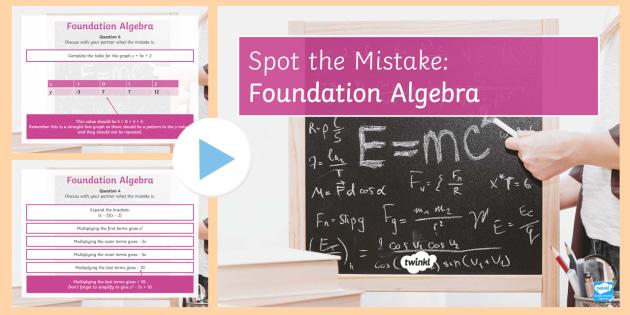algebra foundation Solutions in algebra 1 (9780785469179) more spanish latin french more algebra 1, foundation series algebra 1, foundation series isbn.