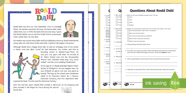 Story Books Roald Dahl Primary Resources KS2 Story Books