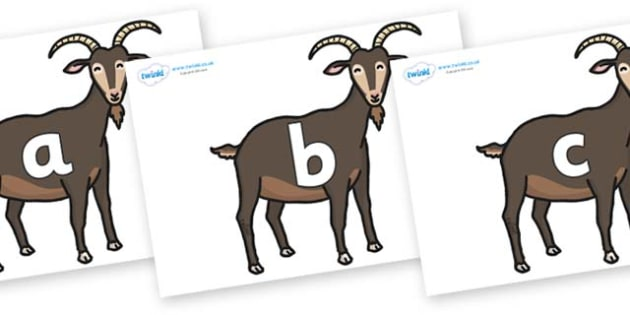 Phase 2 Phonemes on Big Billy Goats - Phonemes, phoneme, Phase 2, Phase two, Foundation, Literacy, Letters and Sounds, DfES, display