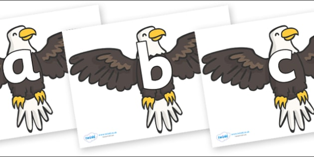 Phoneme Set on Eagles - Phoneme set, phonemes, phoneme, Letters and Sounds, DfES, display, Phase 1, Phase 2, Phase 3, Phase 5, Foundation, Literacy