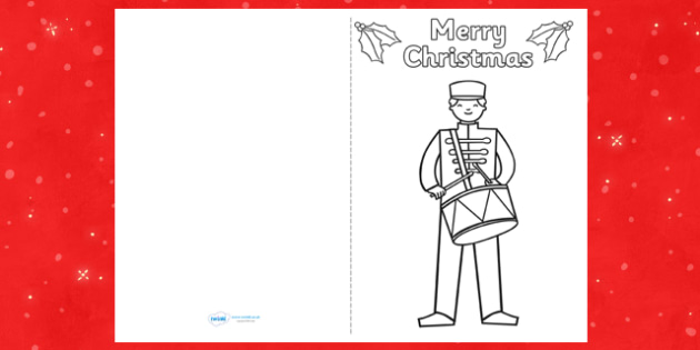 Toy Soldier Christmas Card Templates - cards, card, templates, toy soldier, christmas cards, christmas card, make your own christmas cards, christmas card template, make your own card, blank card, card design, design your own card, craft