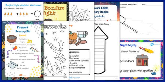 Top 10 Childminder Bonfire Night Activity Pack